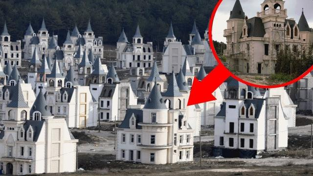 This Deserted Turkish Village Is Filled With Hundreds Of Creepy Disney-like Castles