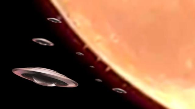WERE HUNDREDS OF UFOS REALLY SEEN LEAVING THE MOON?