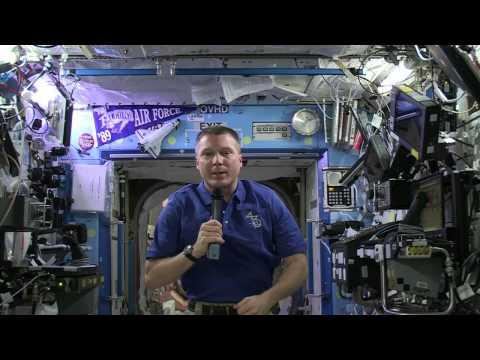 Yuri's Night Greeting From Expedition 43 Commander Terry Virts