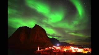 Auroras Dance Over Norway Fishing Village | Video