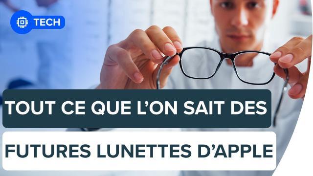 Tout ce que l'on sait des futures lunettes de réalité augmentée d'Apple | Futura