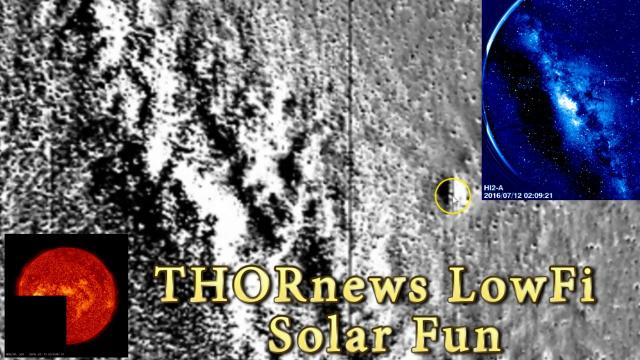 THORnews LowFi Solar Science + Mars Saturn & the Galactic Center Big Thing