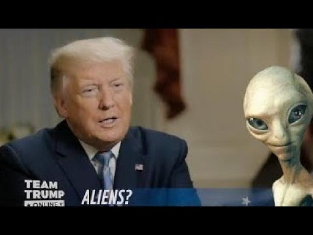 """US President Donald Trump said he has heard """"interesting"""" things about Roswell"""