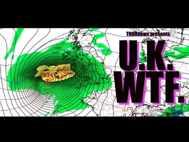 Europe! You got some NASTY storms on the Way. Be Prepared.