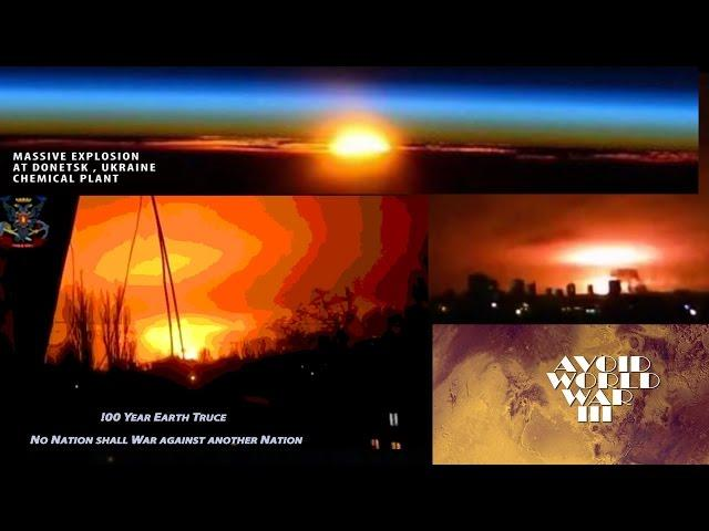 Mushroom Cloud over Ukraine: We Must Avoid WW3 - 100 yr Earth Truce