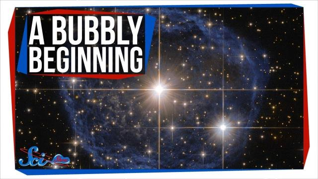 A New, Bubbly Origin Story for the Solar System