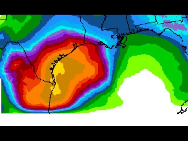 Major Flooding for Texas & Louisiana about to Begin! 3 Day storm!