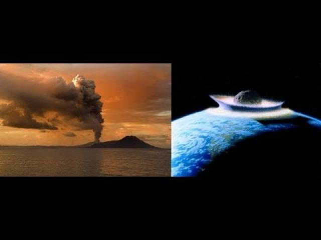What killed the Dinosaurs? Volcanoes? Asteroid? Both? or None of the Above?
