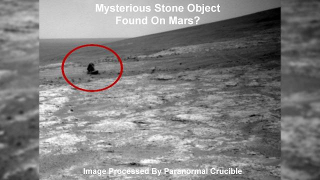 Mysterious Stone Or Metal Object Found On Mars?
