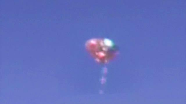 Is That A UFO OR Alien ? | Balloon Shaped Shape Shifting UFO Caught on Camera | Alien Sighting
