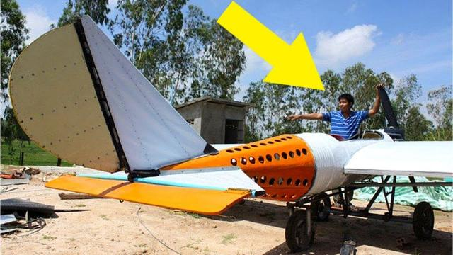 This Man Fearlessly Chases His Dream Of Building A Working Airplane
