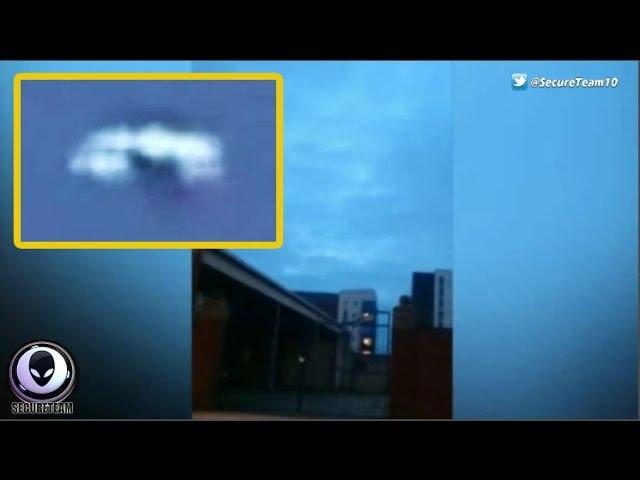 """MAD UFO"" Sighting Caught By Shocked Liverpool Taxi Driver 7/3/2015"