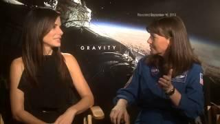 Astronaut Encounters Actor: Sandra Bullock Talks With Cady Coleman | Video