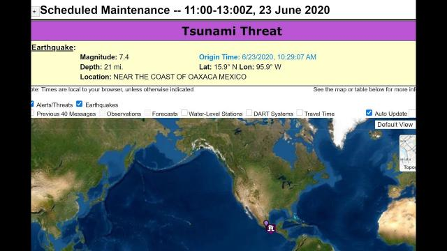 7.5 Mexico Earthquake & Tsunami Threat Tropical Storm Dolly Epic Saharan Dust Story July Hurricane ?