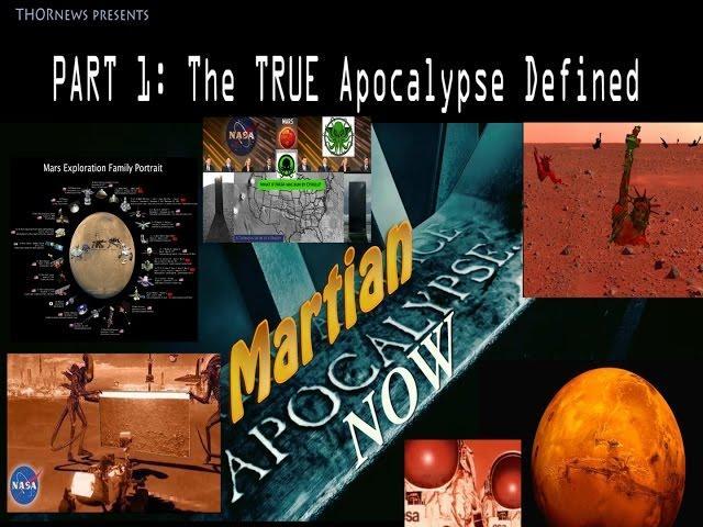 The Martian Apocalypse: part 1 - Apocalypse Defined