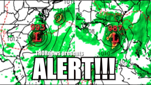 Alert! Hurricane August 23rd in Gulf of Mexico persists. Florida Texas et Al