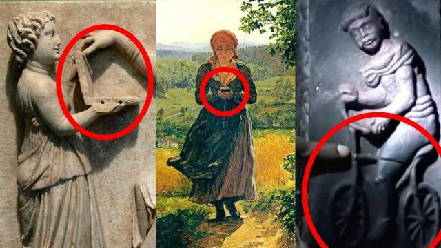 5 Ancient Artworks That are Proof of Time Travel