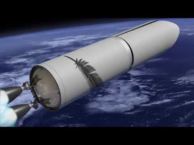 Blue Origin's New Glenn Rocket Animation Updated with New Design