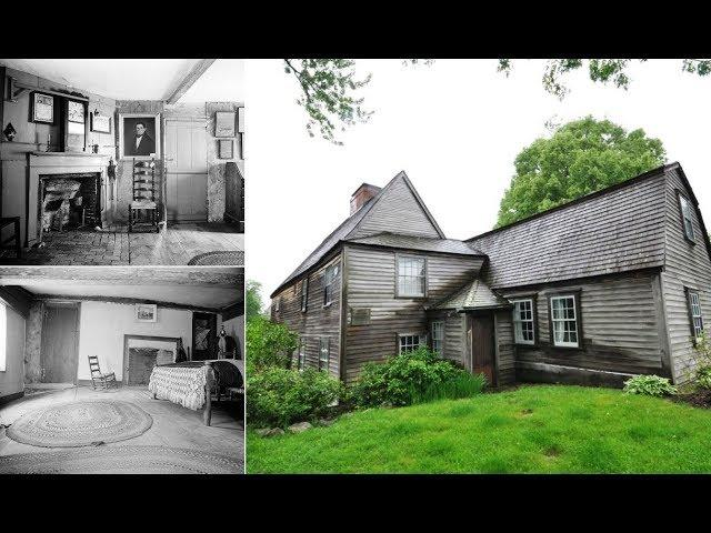 The Fascinating History Of America's Oldest Surviving Timber framed House
