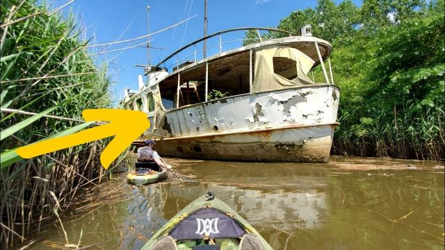 Their Dog Took Them To An Abandoned Boat Which Hid The Impossible Underneath