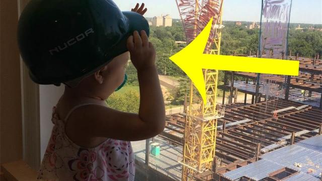 Construction Worker's Note To Little Girl Is The Sweetest Thing You'll See Today