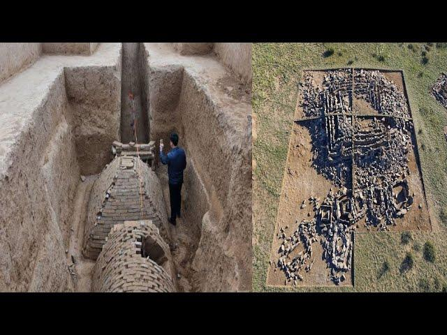 Ancient City Containing Huge Pyramid Unearthed in China