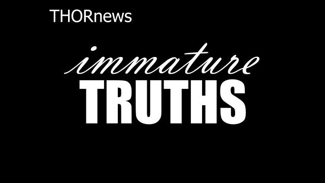 IMMATURE TRUTHS: part 1 - Dating, Marriage & Divorce
