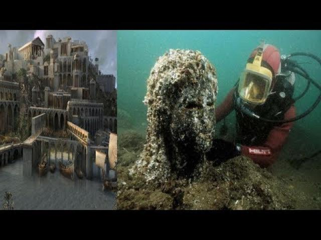 archaeologists found the lost city of Atlantis ?