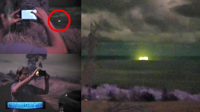 You Won't Believe What We Just Captured On Video! HUGE GREEN UFO! 2019-2020