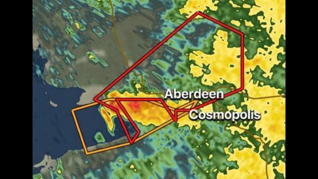 3 Tornado Warnings in Washington State & Hazardous Travel Wednesday 4 Kansas & MO