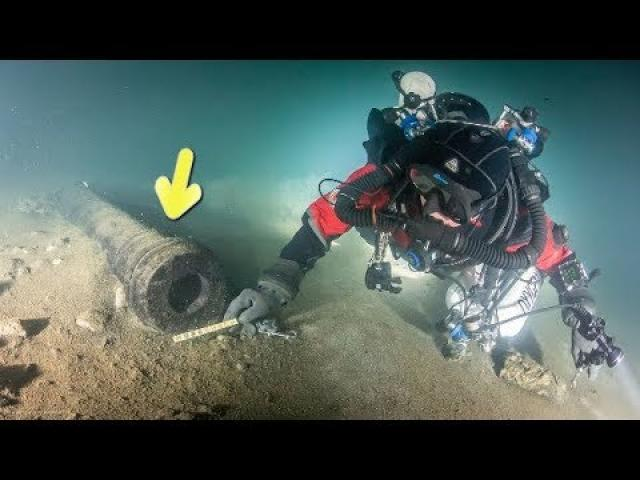 Scientists Just Discovered 500 Year Old Historic Treasure In The Baltic Sea