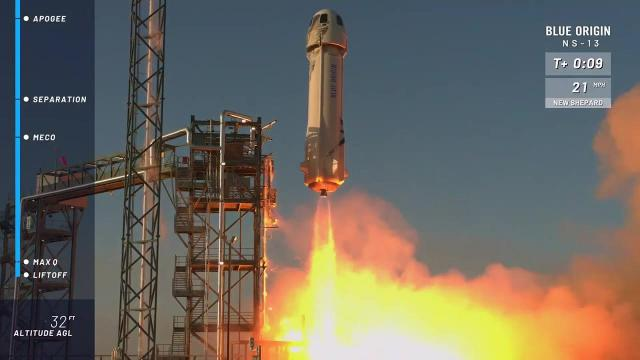 Blue Origin launches 12 commercial payloads, nails landings