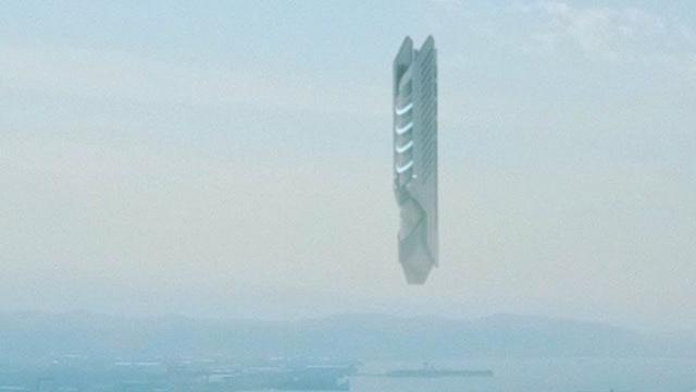 Huge UFO over BOSPHORUS - Turkey !!! January 2018