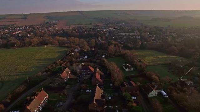 Market Lavington by Drone 4K  THIS IS MY VILLAGE