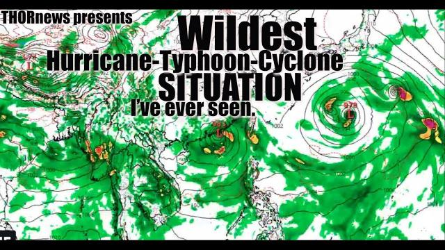 The Pacific Typhoon situation is INSANE! A bad sign for USA Hurricane Season?