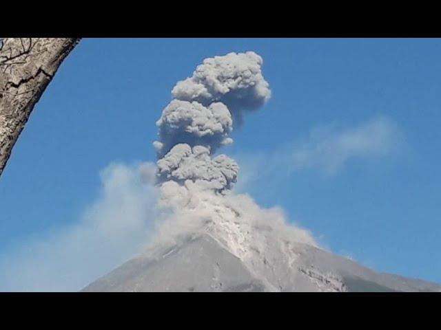 as predicted Guatemala Volcano Erupts + two 6+ Earthquakes & Houston wind.
