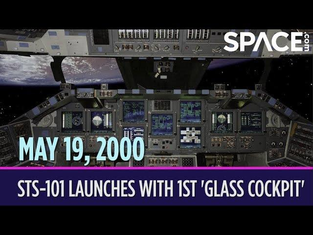 OTD in Space – May 19: STS-101 Launches with 1st 'Glass Cockpit'