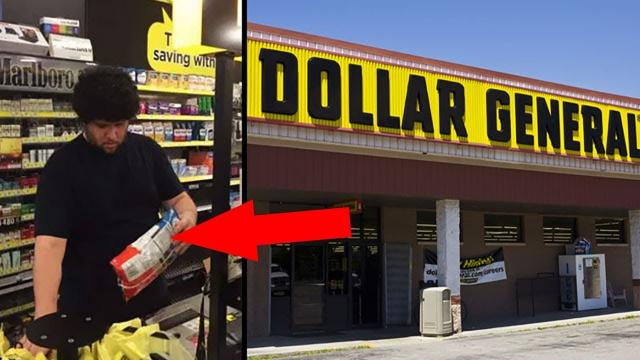 Customers Watch As Man's Card Is Declined, Then The Cashier Takes Action