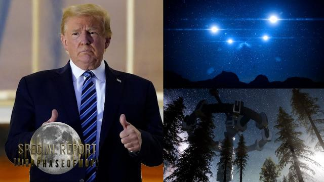 JUST IN! President Donald Trump To Investigate UFO Sightings!