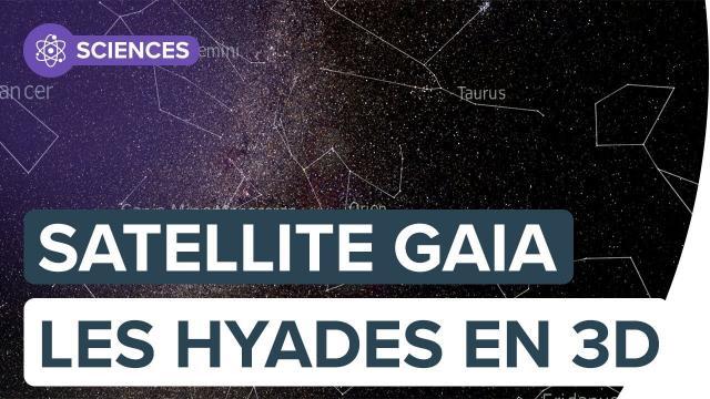 Gaia : explorez les Hyades, la tête du Taureau en 3D | FUTURA