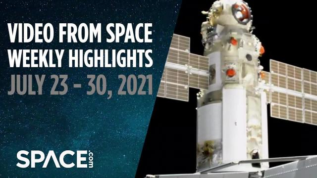 Falcon Heavy & Europa Clipper, Nauka docks, Ingenuity flies & more in VFS Weekly