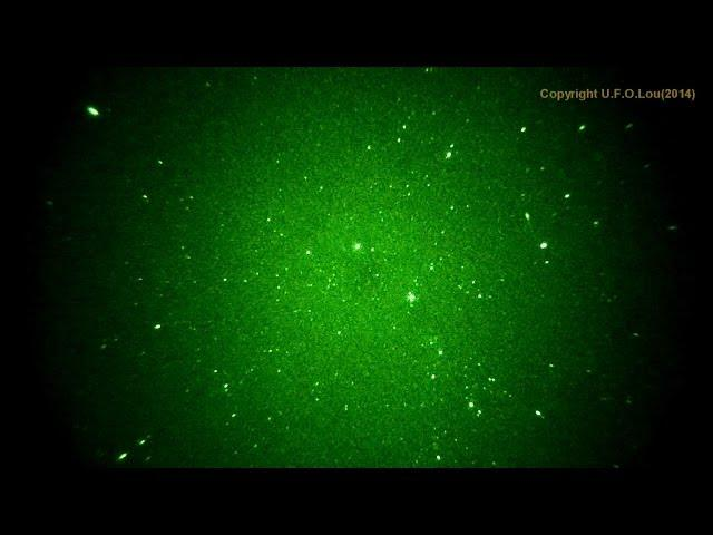 UFO Lou -  More footage with my P8079HP Nightvision tube.