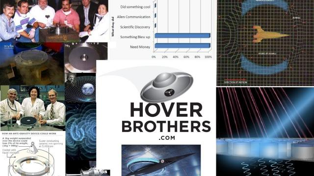 Hover Brothers TV!! The Quest for Anti-Gravity Tech - LIVE - Episode 1