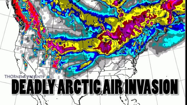Wild Weather Incoming! Deadly Arctic Air & Icing Invasion! + a 2016 rant