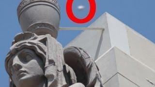 UFO Sightings 100% Proof UFOs Strange&Unusual Lights Stun TV Crew! April 29, 2012