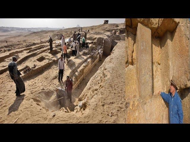 Archaeologists Made A Discovery That Could Solve The Pyramids 4,500 Year Old Mystery