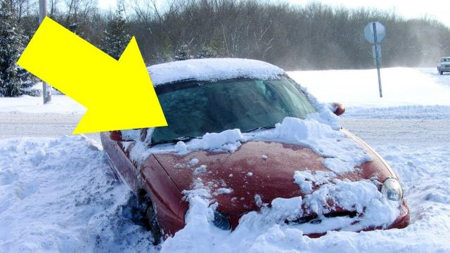 Here's Why Letting A Car Idle To Heat It Up During The Winter Is A Terrible Idea