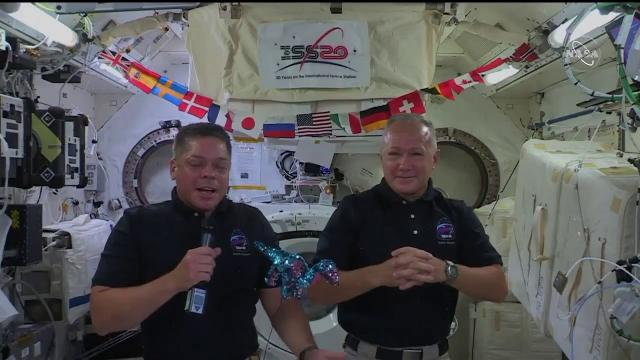 Happy Father's Day! SpaceX Demo-2 astronauts talk about sons while on Space Station