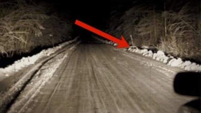 What Took Place On This Freezing Country Road Defies All Scientific Explanation