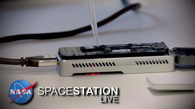 Space Station Live: Big DNA Science in a Small Package